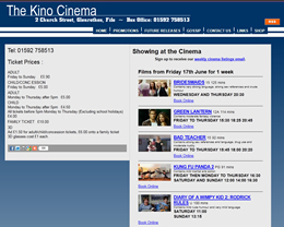 The Kino Cinema, Glenrothes